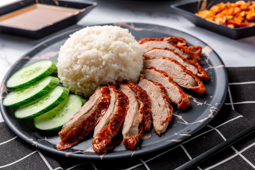 rýže s přesoleným jídlem