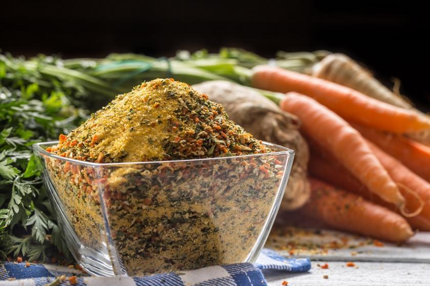 domácí vegeta sušená