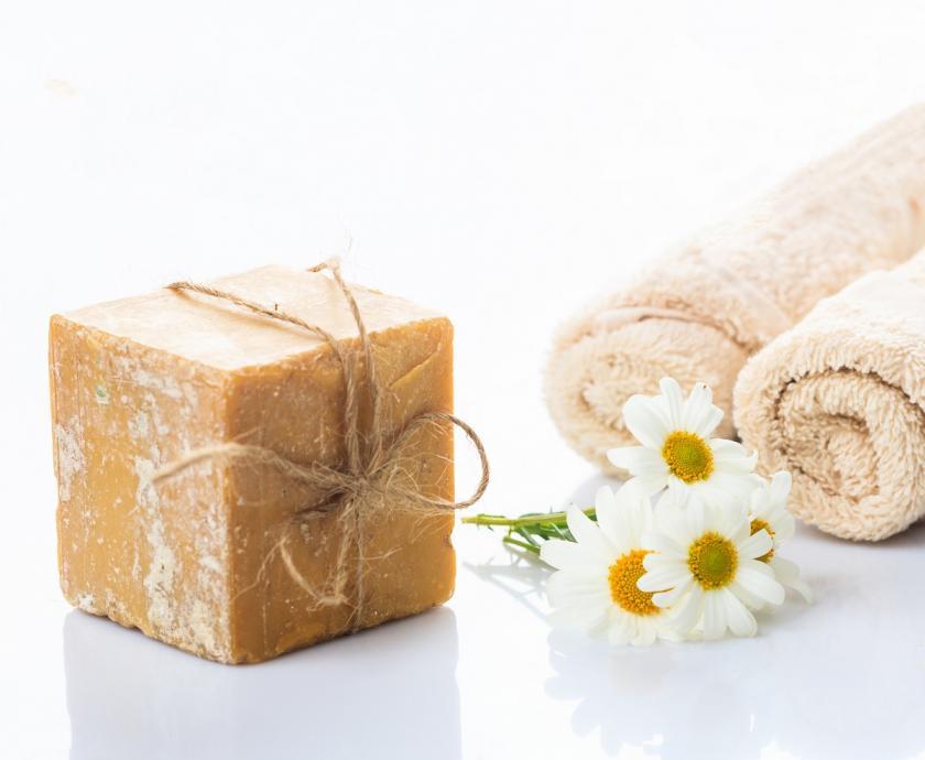 žlučové mýdlo na ručníky
