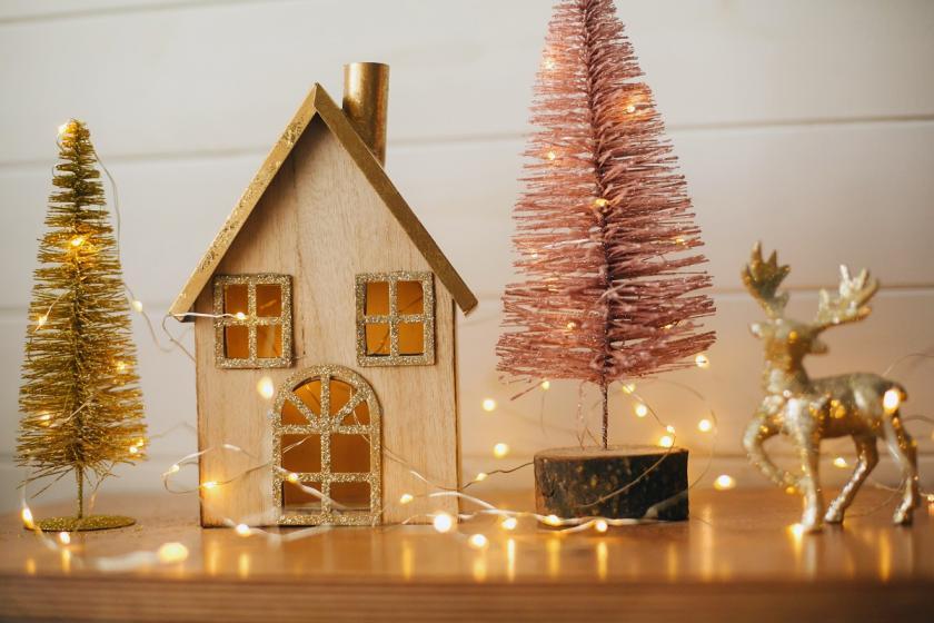 vánoční vesnička