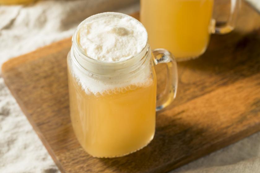 sklenice máslového ležáku