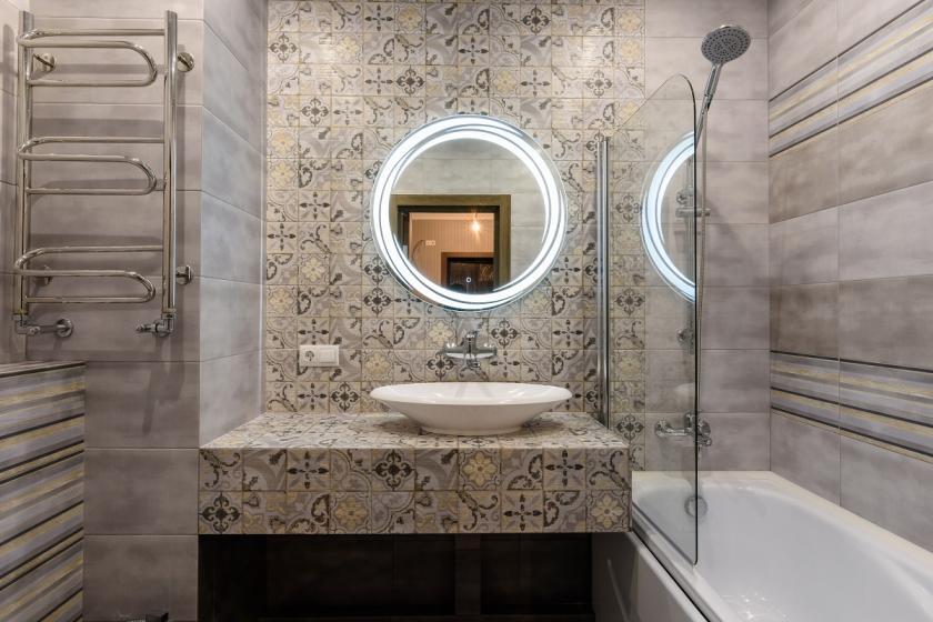 patchwork obklad koupelna
