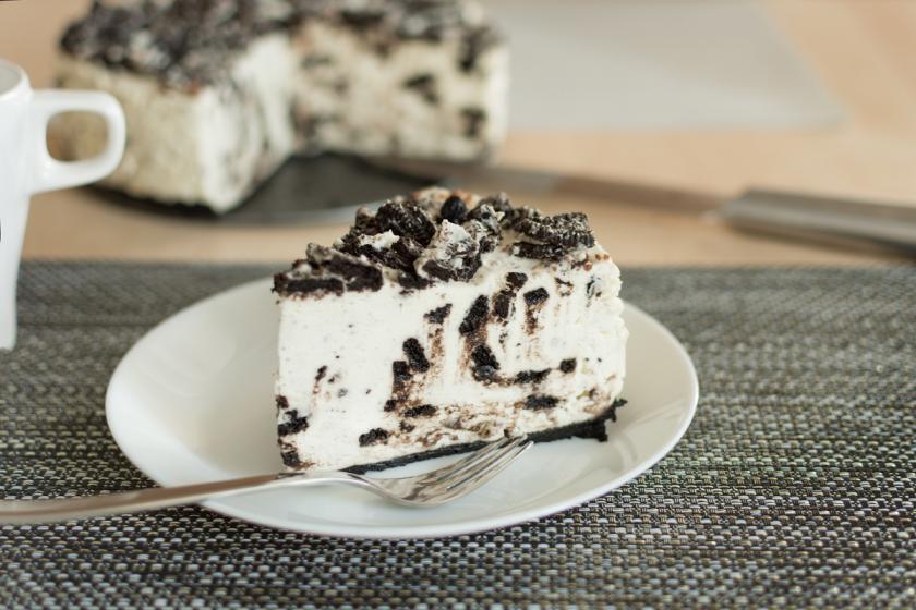 nepečený oreo dort