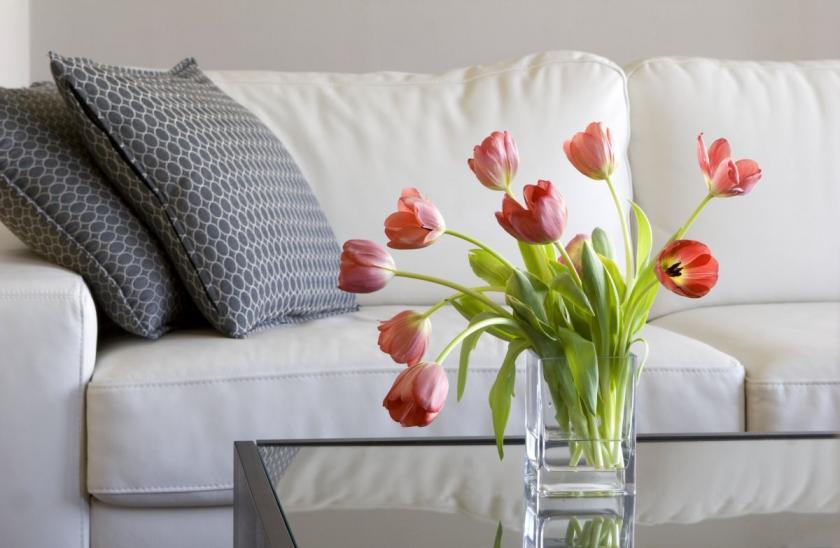 tulipány ve váze