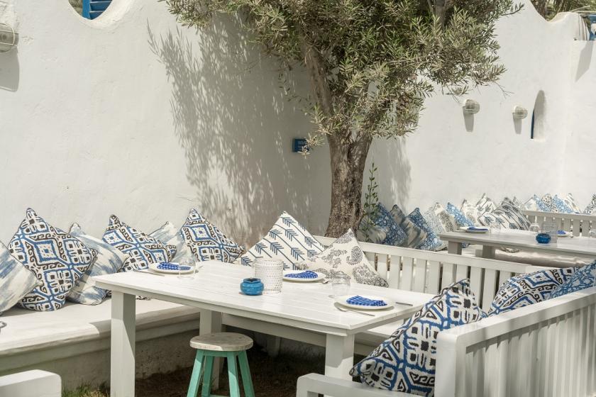 středomořský styl venku