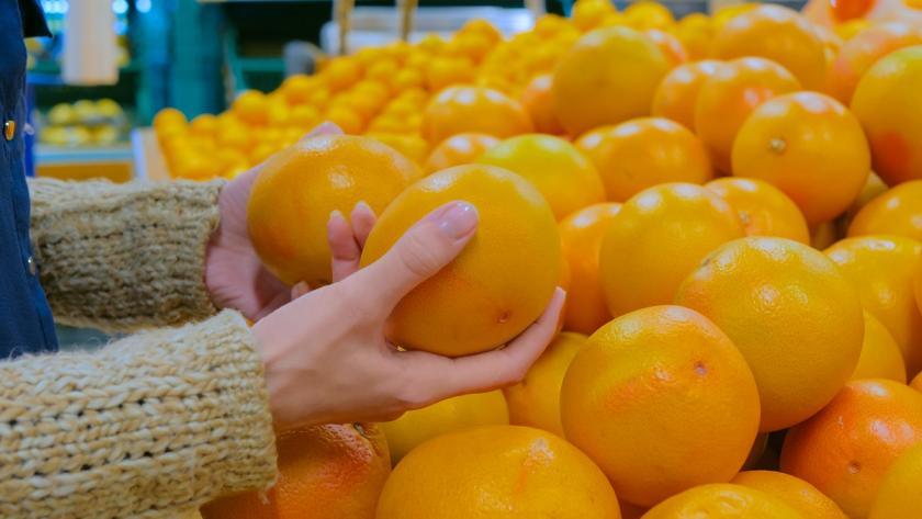 citrusy v obchodě