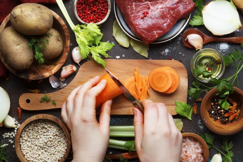 příprava domácí vegety
