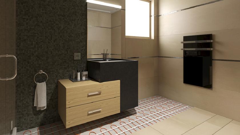 kermický topný panel do koupelny