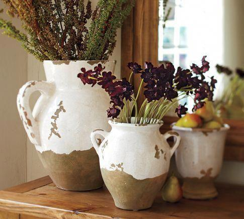 rustikální vázy
