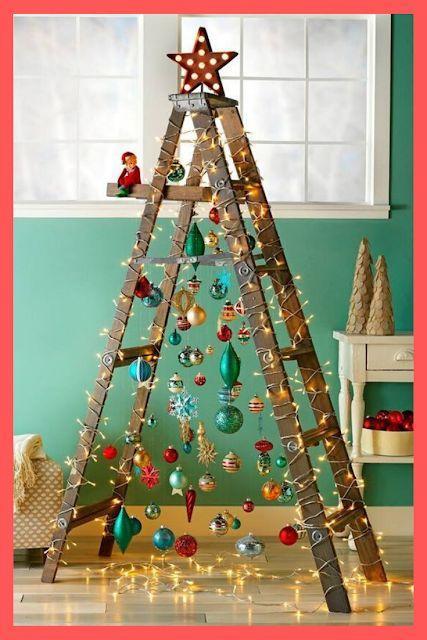 vánoční stromek ze štaflí