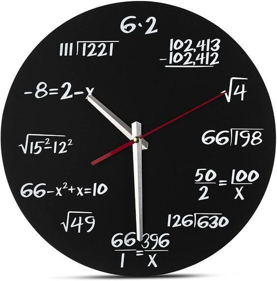 hodiny pro matematiky