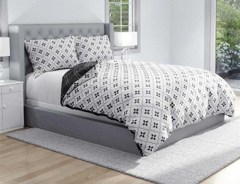 povlečení na postel hnědé