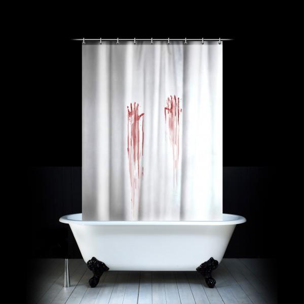 Bytové doplňky pro odvážné: Pořiďte si třeba koupelnový závěs z filmu Psych